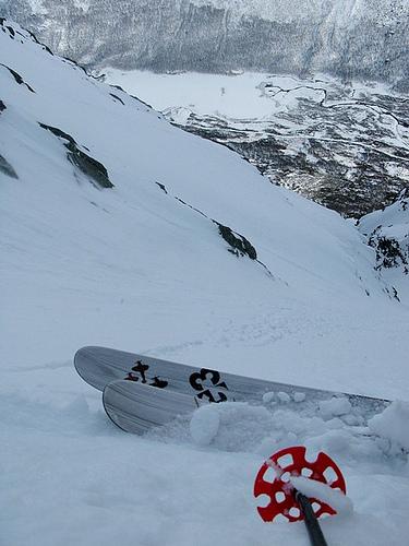 Steep skiing in Hemsedal
