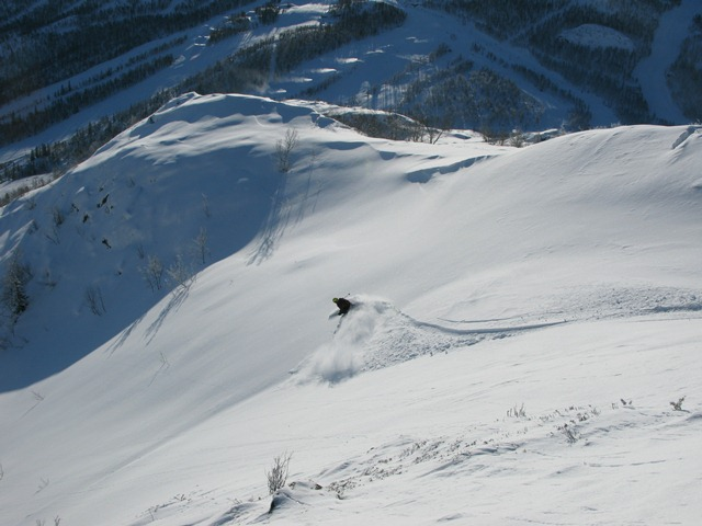Fjellet Kaller know where the best conditions are and can show you Hemsedal's secrets.